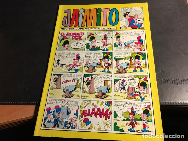 Tebeos: JAIMITO LOTE 67 EJEMPLARES DE LOS ULTIMOS (ORIGINALES VALENCIANA) MUY BUEN ESTADO (COIB122) - Foto 23 - 65798122
