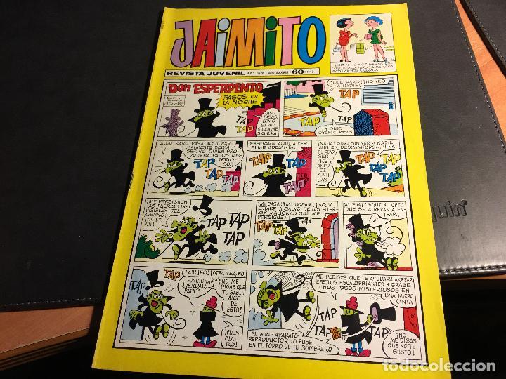 Tebeos: JAIMITO LOTE 67 EJEMPLARES DE LOS ULTIMOS (ORIGINALES VALENCIANA) MUY BUEN ESTADO (COIB122) - Foto 26 - 65798122