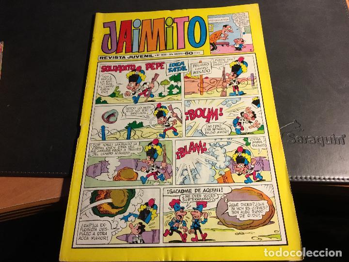 Tebeos: JAIMITO LOTE 67 EJEMPLARES DE LOS ULTIMOS (ORIGINALES VALENCIANA) MUY BUEN ESTADO (COIB122) - Foto 28 - 65798122