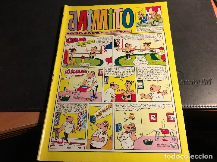Tebeos: JAIMITO LOTE 67 EJEMPLARES DE LOS ULTIMOS (ORIGINALES VALENCIANA) MUY BUEN ESTADO (COIB122) - Foto 29 - 65798122
