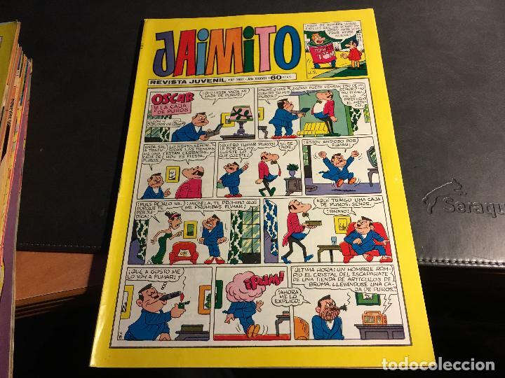 Tebeos: JAIMITO LOTE 67 EJEMPLARES DE LOS ULTIMOS (ORIGINALES VALENCIANA) MUY BUEN ESTADO (COIB122) - Foto 31 - 65798122