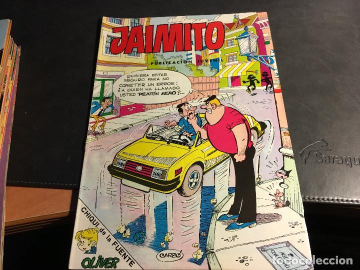 Tebeos: JAIMITO LOTE 67 EJEMPLARES DE LOS ULTIMOS (ORIGINALES VALENCIANA) MUY BUEN ESTADO (COIB122) - Foto 34 - 65798122