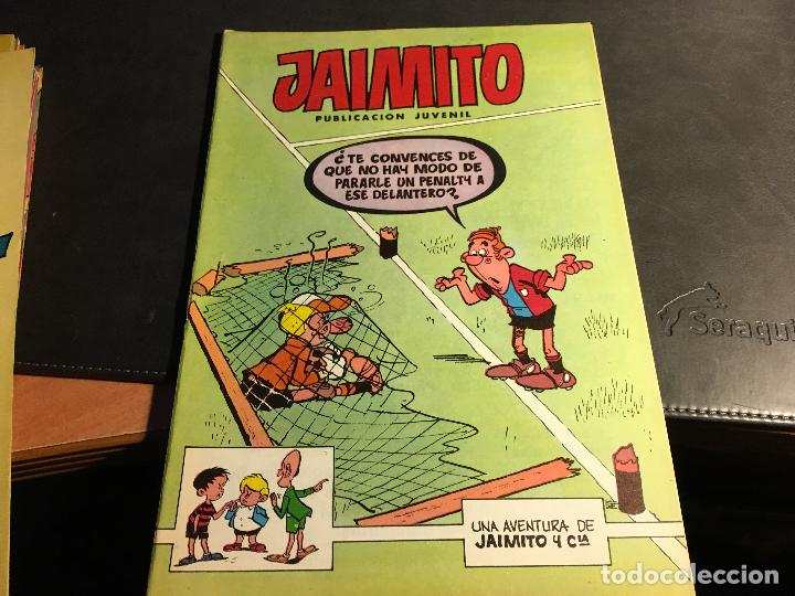 Tebeos: JAIMITO LOTE 67 EJEMPLARES DE LOS ULTIMOS (ORIGINALES VALENCIANA) MUY BUEN ESTADO (COIB122) - Foto 46 - 65798122