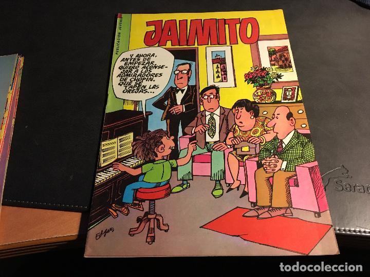 Tebeos: JAIMITO LOTE 67 EJEMPLARES DE LOS ULTIMOS (ORIGINALES VALENCIANA) MUY BUEN ESTADO (COIB122) - Foto 63 - 65798122
