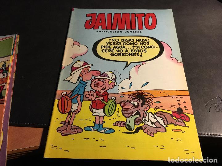 Tebeos: JAIMITO LOTE 67 EJEMPLARES DE LOS ULTIMOS (ORIGINALES VALENCIANA) MUY BUEN ESTADO (COIB122) - Foto 64 - 65798122