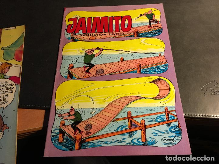 Tebeos: JAIMITO LOTE 67 EJEMPLARES DE LOS ULTIMOS (ORIGINALES VALENCIANA) MUY BUEN ESTADO (COIB122) - Foto 71 - 65798122