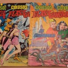 Tebeos: FLASH GORDON COLOSOS DEL COMIC LOTE DE 3 N. Lote 65963750