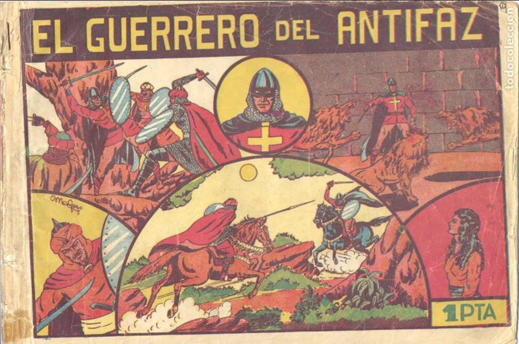 GUERRERO DEL ANTIFAZ Nº1. EDITORIAL VALENCIANA. ORIGINAL. MANUEL GAGO (Tebeos y Comics - Valenciana - Guerrero del Antifaz)