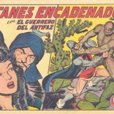 Tebeos: GUERRERO DEL ANTIFAZ Nº217. ORIGINAL. EDITORIAL VALENCIANA. MANUEL GAGO. Lote 66165158