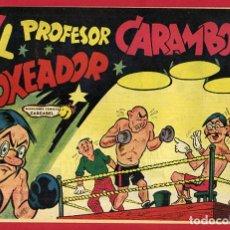 Tebeos: PROFESOR CARAMBOLA, BOXEADOR , 1,50 PTAS , VALENCIANA , ORIGINAL , J. Lote 66443722