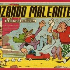 Tebeos: PROFESOR CARAMBOLA, CAZANDO MALEANTES , 1,50 PTAS , VALENCIANA , ORIGINAL , J. Lote 66443770