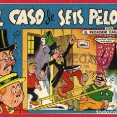 Tebeos: PROFESOR CARAMBOLA, EL CASO DE LOS SEIS PELOS , 1,50 PTAS , VALENCIANA , ORIGINAL , J. Lote 66443942
