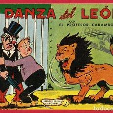 Tebeos: PROFESOR CARAMBOLA, LA DANZA DEL LEON , 1,50 PTAS , VALENCIANA , ORIGINAL , J. Lote 66444006