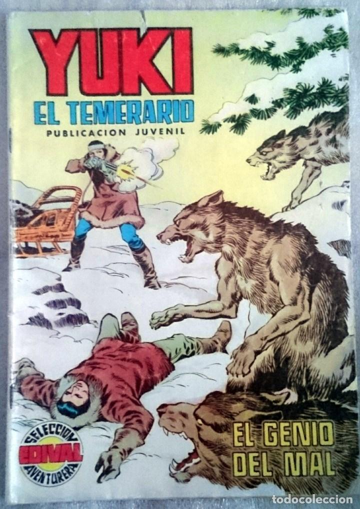 YUKI EL TEMERARIO Nº 21. VALENCIANA, 1977. (Tebeos y Comics - Valenciana - Selección Aventurera)