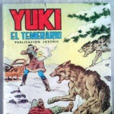 Tebeos: YUKI EL TEMERARIO Nº 21. VALENCIANA, 1977.. Lote 66576082