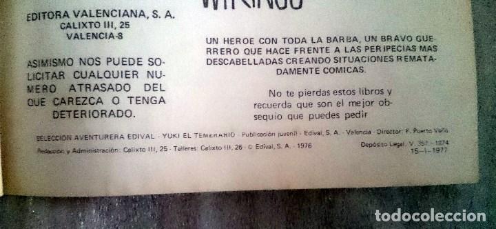 Tebeos: Yuki El Temerario nº 21. Valenciana, 1977. - Foto 3 - 66576082