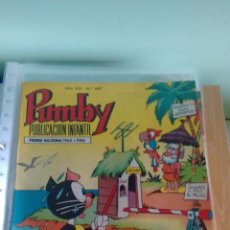 Tebeos: PUMBY Nº 687. VALENCIANA 1970. SANCHIS. . Lote 66641098