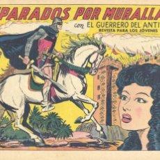 Tebeos: GUERRERO DEL ANTIFAZ Nº340. ORIGINAL. EDITORIAL VALENCIANA. MANUEL GAGO. Lote 66767138