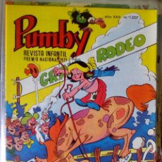 Tebeos: PUMBY Nº 1007. VALENCIANA 1977. CERDAN. IMPECABLE. Lote 67036654