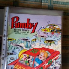 Tebeos: PUMBY Nº 1039. VALENCIANA 1977. SANCHIS. IMPECABLE. Lote 67048318