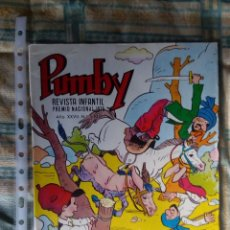 Tebeos: PUMBY Nº 1105. VALENCIANA 1980. KARPA. IMPECABLE. Lote 67053682