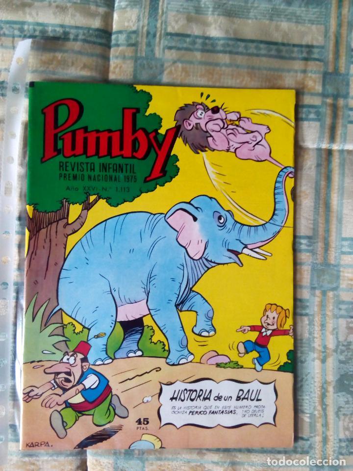 PUMBY Nº 1113. VALENCIANA 1980. KARPA. IMPECABLE (Tebeos y Comics - Valenciana - Pumby)