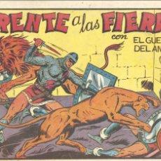Tebeos: GUERRERO DEL ANTIFAZ Nº21. ORIGINAL. MANUEL GAGO. EDITORIAL VALENCIANA. Lote 67193733