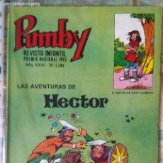 Tebeos: PUMBY Nº 1185. VALENCIANA 1983. CHIQUI DE LA FUENTE. IMPECABLE. Lote 67336497