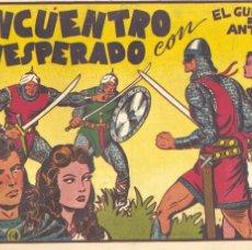 Tebeos: GUERRERO DEL ANTIFAZ Nº18. ORIGINAL. EDITORIAL VALENCIANA. MANUEL GAGO. Lote 67528941