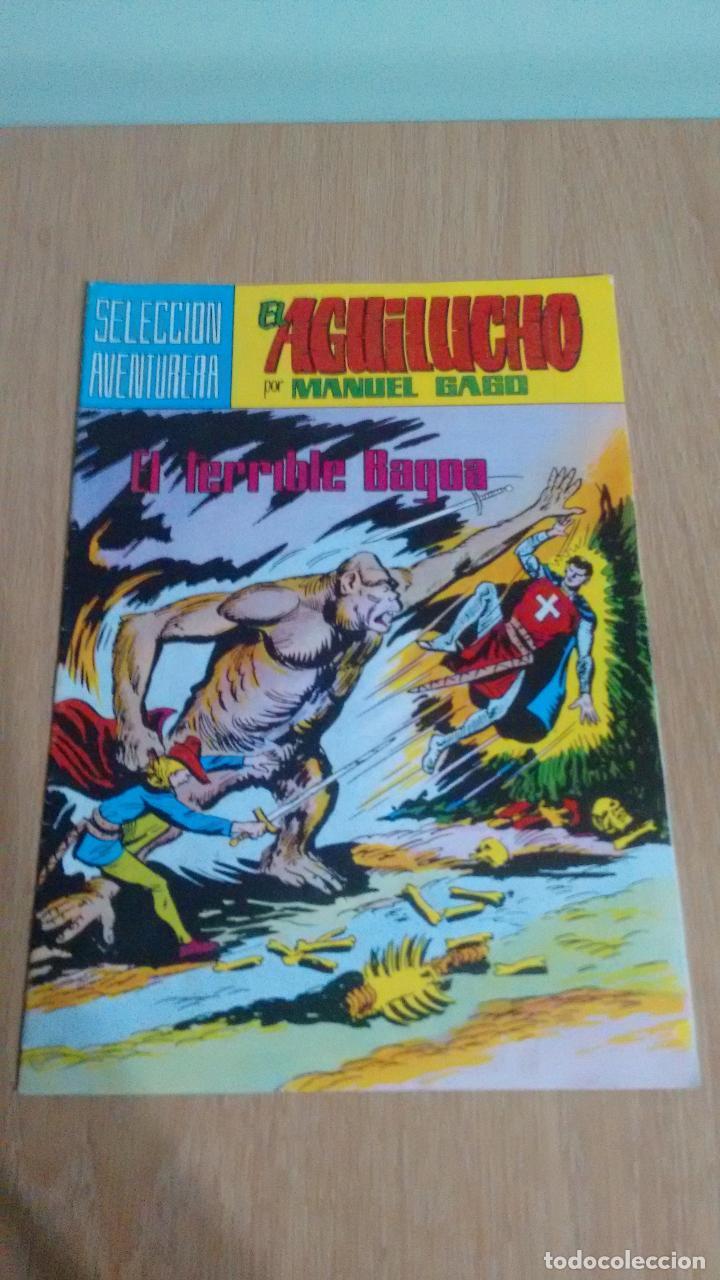 SELECCION AVENTURERA EL AGUILUCHO Nº 34. EL TERRIBLE BAGOA. VALENCIANA 1982. MANUEL GAGO. (Tebeos y Comics - Valenciana - Selección Aventurera)