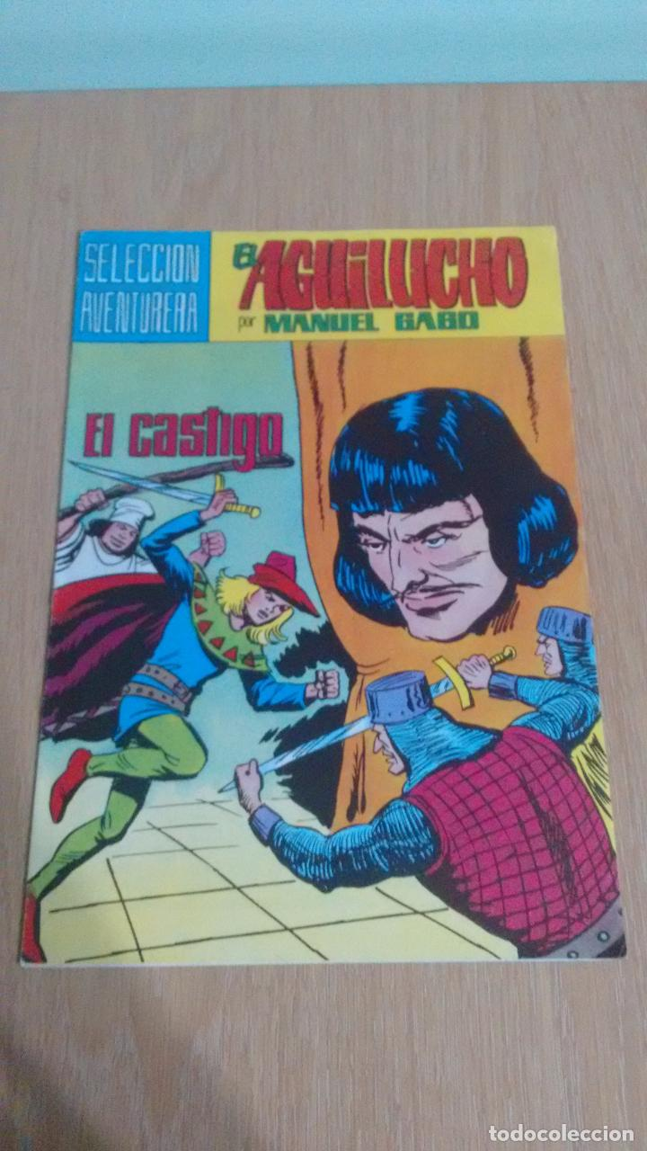 SELECCION AVENTURERA EL AGUILUCHO Nº 37. EL CASTIGO. VALENCIANA 1982. MANUEL GAGO. (Tebeos y Comics - Valenciana - Selección Aventurera)