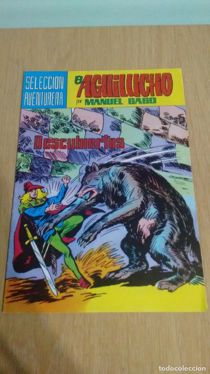 SELECCION AVENTURERA EL AGUILUCHO Nº 41. DESCUBIERTOS. VALENCIANA 1982. MANUEL GAGO. (Tebeos y Comics - Valenciana - Selección Aventurera)