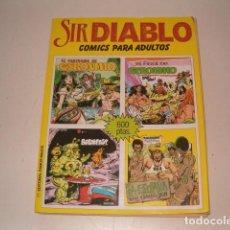 Tebeos: SIR DIABLO. COMICS PARA ADULTOS. ZHAR. CUATRO COMICS EN UN SOLO VOLUMEN. RMT77550. . Lote 67718997