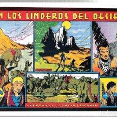 Tebeos: FASCIMIL. AVENTURAS DE JULIO Y RICARDO. EN LOS LINDEROS DEL DESIERTO. . Lote 67817781