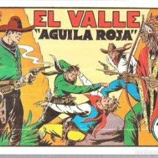 Tebeos: FASCIMIL. AVENTURAS DE JULIO Y RICARDO. EL VALLE, AGUILA ROJA. EDITORIAL VALENCIANA. Lote 67818229