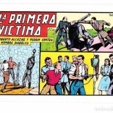 Tebeos: ROBERTO ALCÁZAR Y PEDRÍN CONTRA EL HOMBRE DIABÓLICO. LA PRIMERA VÍCTIMA. EDITORA VALENCIANA. Nº50. Lote 67820949