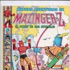 Tebeos: NUEVAS AVENTURAS DE MAZINGER-Z Nº 11.CONTIENE EL RECORTABLE.VALENCIANA 1978.. Lote 67971645