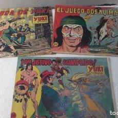 Tebeos: COMIC- YUKI EL TEMERARIO-ORIGINALES-ORIGINALES, AÑOS 1958. Lote 68107365