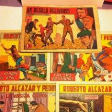 Tebeos: ROBERTO ALCAZAR Y PEDRIN -LOTE DE 5. Lote 68316569