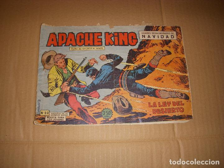 APACHE KING Nº 23, NÚMERO EXTRAORDINARIO DE NAVIDAD, EDITORIAL VALENCIANA (Tebeos y Comics - Valenciana - Otros)