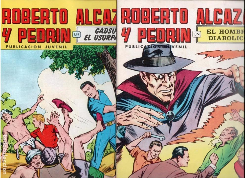 ROBERTO ALCAZAR Y PEDRÍN. COLECCIÓN COMPLETA A FALTA DE 4 NÚMEROS. VALENCIANA. LEER (Tebeos y Comics - Valenciana - Roberto Alcázar y Pedrín)