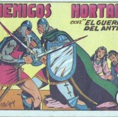 Tebeos: GUERRERO DEL ANTIFAZ Nº9. ORIGINAL. EDITORIAL VALENCIANA. MANUEL GAGO. Lote 69111101