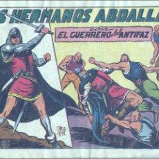 Tebeos: GUERRERO DEL ANTIFAZ 114. ORIGINAL. EDITORIAL VALENCIANA. MANUEL GAGO. Lote 69111289