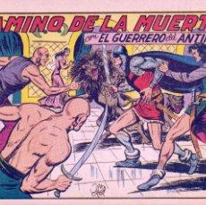 Tebeos: GUERRERO DEL ANTIFAZ 218. EDITORIAL VALENCIANA. MANUEL GAGO. Lote 69407677