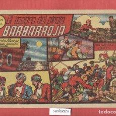 Tebeos: EL TESORO DEL PIRATA BARBARROJA - ROBERTO ALCAZAR Y PEDRIN Nº.22 EDITORIAL VALENCIANA*. Lote 69902353
