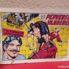 Tebeos: COMIC TEBEO EL PERVERSO VANDERER CON EL ESPADACHIN ENMASCARADO EDITORA VALENCIANA Nº 15 1981 2º EDIC. Lote 70028113