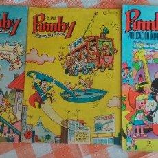 Tebeos: SUPER PUMBY Nº 14 Y 15 + ALBUM DE VERANO 1968 INCOMPLETO (VALENCIANA 1963/68) 3 TEBEOS.. Lote 57144424