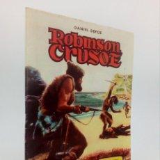Tebeos: CLÁSICOS ILUSTRADOS 3. ROBINSON CRUSOE – DANIEL DEFOE (SANCHÍS CORTÉS) VALENCIANA, 1984. OFRT. Lote 71065621