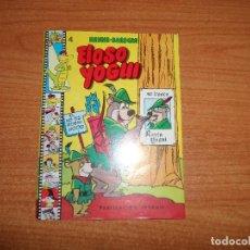Tebeos: MINI HANNA BARBERA Nº 4 EL OSO YOGUI EDITORIAL VALENCIANA 1984 . Lote 71073505
