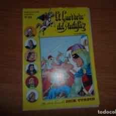Tebeos: EL GUERRERO DEL ANTIFAZ Nº 24 3ª EPOCA EDITORIAL VALENCIANA AÑOS 80 SERIE INEDITA . Lote 71073713
